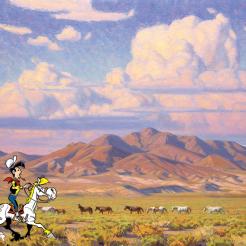 Lucky Luke Wild Western Art Tahoe Quarterlt