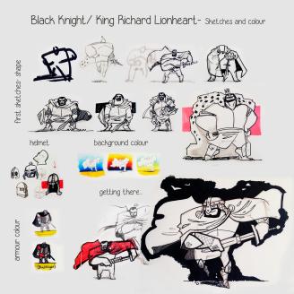 black knight king richard- beatriz porrero_01