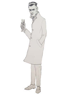 Sir Glyde dibujo BRPorrero